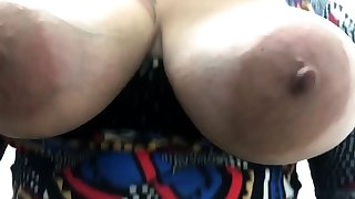 Russian subfuscous with obese tits all over lingerie