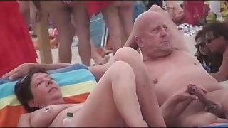 Nude Beach - Bad Couples Pen up Exhiibitions