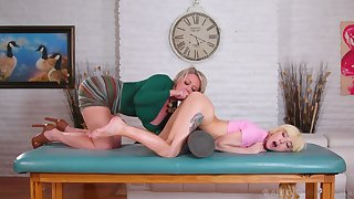 Erotic moments for a big ass mature and the step daughter